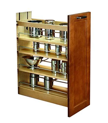 Rev-A-Shelf 9 in Base Cabinet Organizer Soft-Close 9 Natural