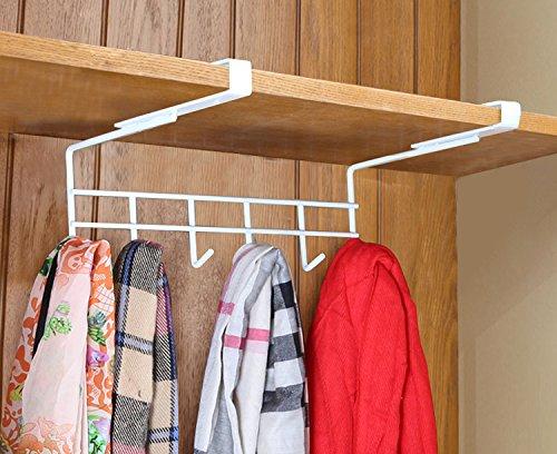 Home-organizer Tech Multifunction Under Cabinets Shelf Rack Shelf Storage Organization Basket Wardrobe Bathroom Hang Organizer Holder