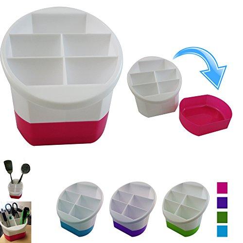Multi Purpose Cutlery Holder Caddy Organizer Kitchen Utensil Container Storage