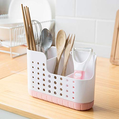 Home Accessories Onsales Household Kitchen Cage Cutlery Storage Box Wall-Mounted Chopsticks Tube Color Pink Kitchen Bathroom Bar Easter Decorations Gifts