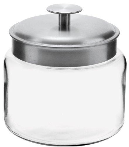 Anchor Hocking 95539 48 Oz Mini Montana Food Storage Jar Pack of 4
