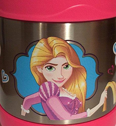 Thermos Disney Princess Ariel Belle Rapunzel Food Storage Jar - Pink 10oz