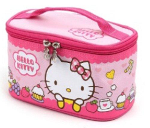 Lock and Lock Hello Kitty Children Kids Lunch Box Bento Outdoor Hiking Picnic Kitchen Food Storage Insulated Bag