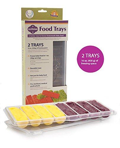 Milkies Baby Food Freezer Storage Trays