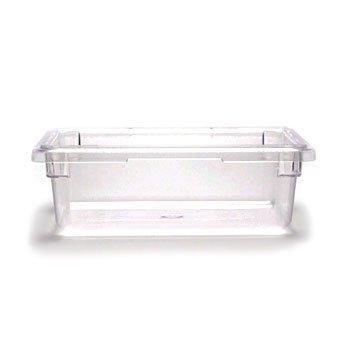 Cambro 12186CW135 Clear Food Box 12 x 18 x 6 Camwear 6 Pack