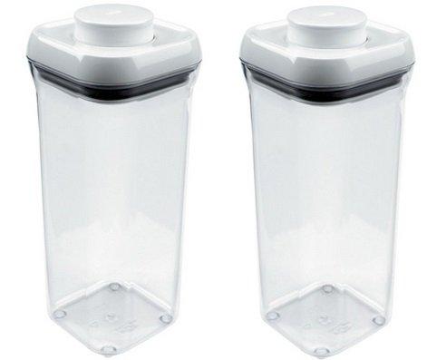 Oxo 1071398 15 Quart Pop Small Square Food Storage Container - Quantity 2