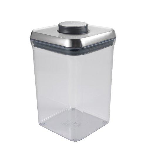 OXO SteeL Airtight POP Container - Big Square 40 Qt