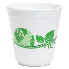 WCPF16VIO 16 oz Biodegradable Foam Food Container