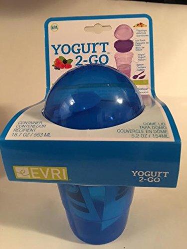 Yogurt 2-go Reusable Container Blue