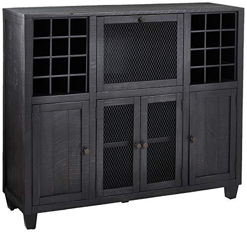 Martin Furniture IMCP300 Wine Cabinet Brown