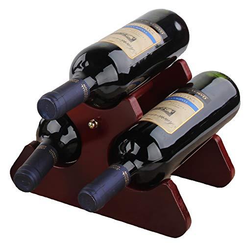 Cherish Wine Rack Standing Wine Storage Racks Wine Racks Countertop Wooden Wine Bottle Holder Wine Shelf 63 Bottle