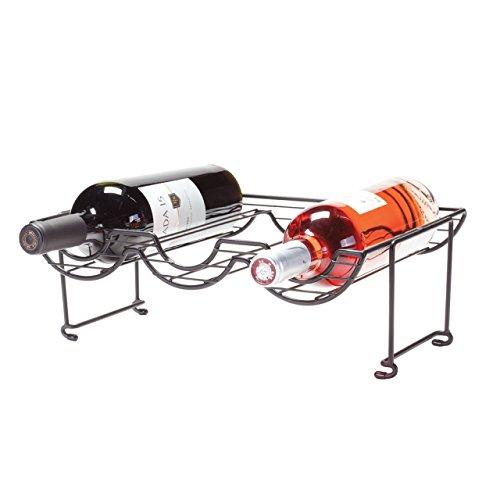 Oenophilia Halfpipe Stackable Wine Rack - 3 Bottle