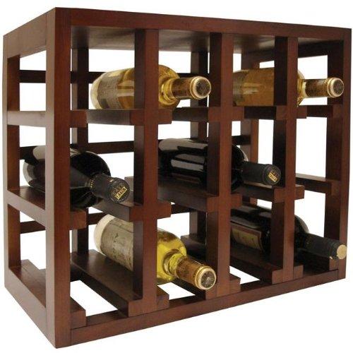 Vinotemp 12-Bottle Stackable Wine Rack