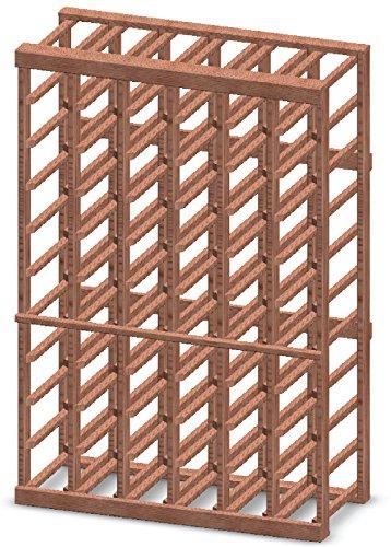 Vinotemp 6-Column 60-Bottle Half-Height Wine Rack Kit