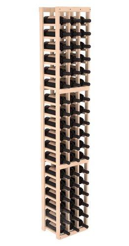 Wine Racks America Ponderosa Pine 3 Column Wine Cellar Kit 13 Stains to Choose From
