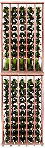 Wineracks Premium Cellar Series 100 Bottle Wine Rack Kit Mahogany