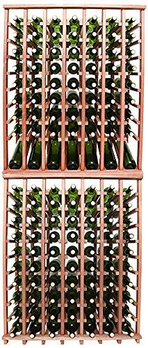Wineracks Premium Cellar Series 140 Bottle Wine Rack Kit Mahogany