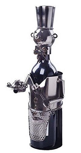 Wine Holder Stainless Steel Wine Rack Modern Metal Wine Rack Little Chef