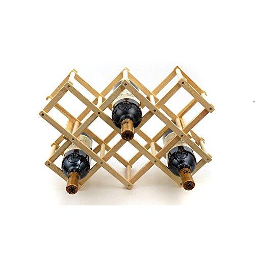 DONG Fashion creative pine wine rack
