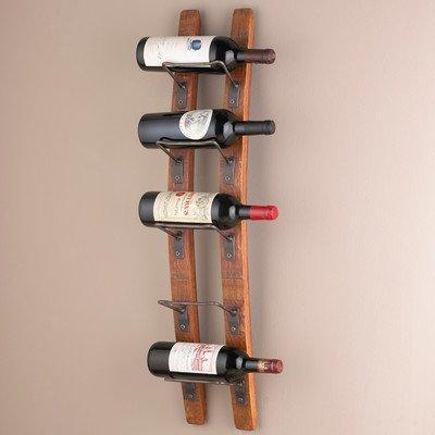 Blackburn 5 Bottle Wall Mounted Wine Rack 34 H x 875 W x 7 D 1