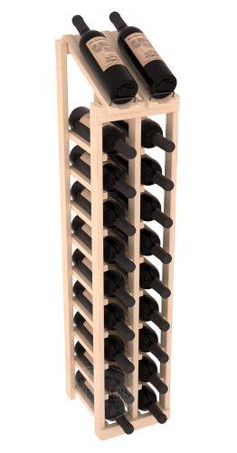 Wine Racks America Pine 2 Column 10 Row Display Top Kit Unstained