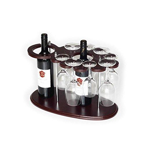 DONG Creative wood wine display racks