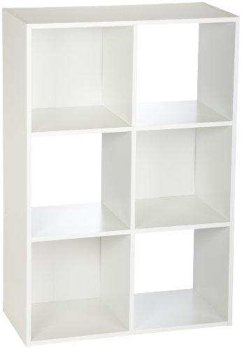 ClosetMaid 8996 Cubeicals Organizer 6-Cube - White