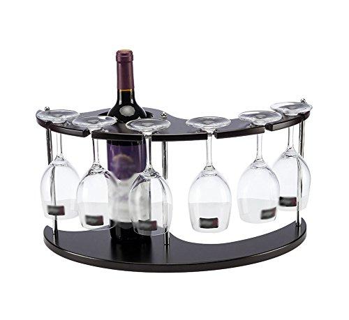 LMCKM Wine Rack Solid Wood Nine Bottles of Wine Rack Simple Wooden Wine Rack Can Be Stacked 9 Bottles of Practical Storage Rack 33x30x34cm