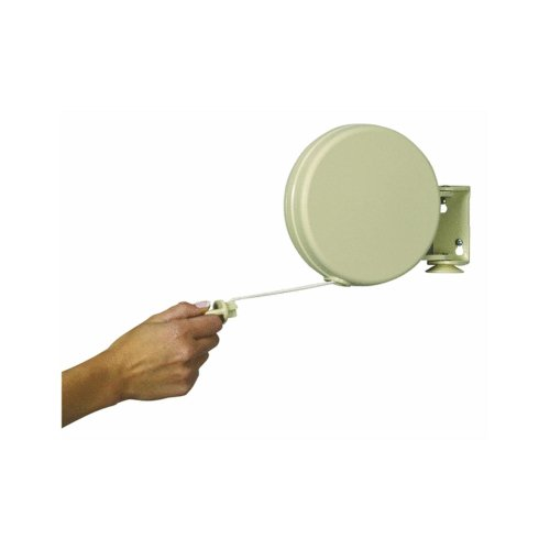 Household Essentials 40 Feet Single Line Retractable Clothesline Item R-400