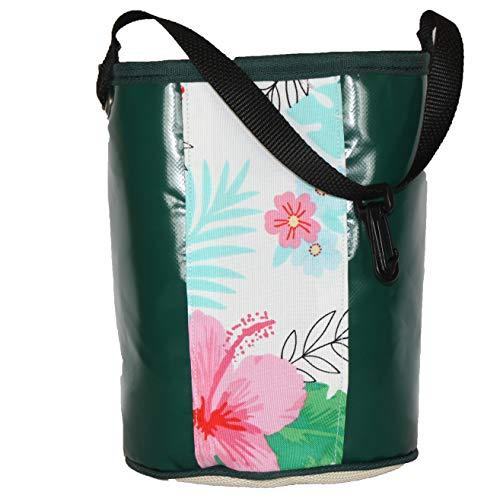 Kangaroo Reef Clothespins Bag - Green PVC Australian UV Rated Great Laundry Storage Idea