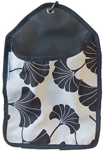 Kangaroo Reef Laundry Storage Clothes Pin Bag Black Ginkgo