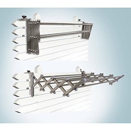 IndoorOutdoor Foldable Drying Rack with Optional Wall-Mount