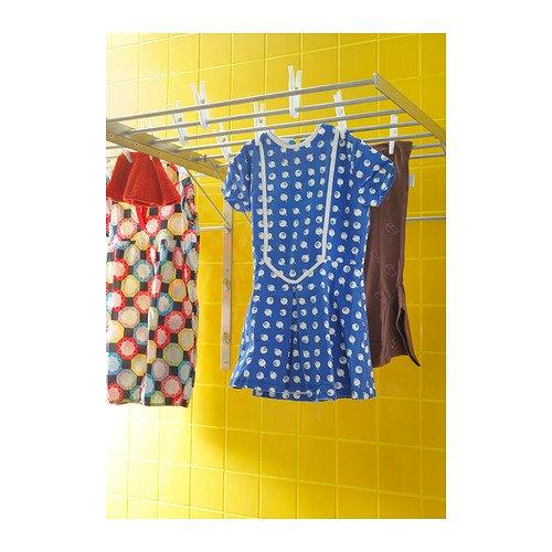 Ikea 10177178 Grundtal wall drying rack stainless steel