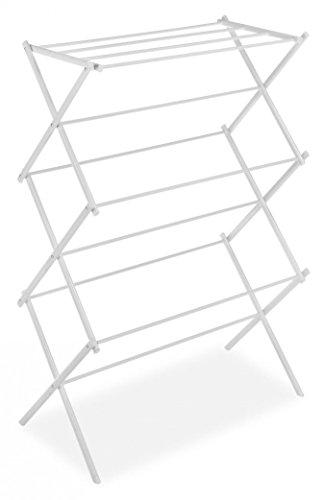 Whitmor 6023-741 Folding Clothes Drying Rack White 2 Pack