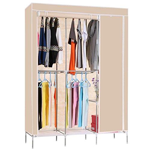 Corgy Modern Style Folding Portable Practical Sturdy Clothes Closet WardrobeUS STOCK