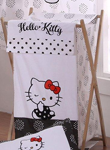 Hello Kitty Black Laundry Hamper