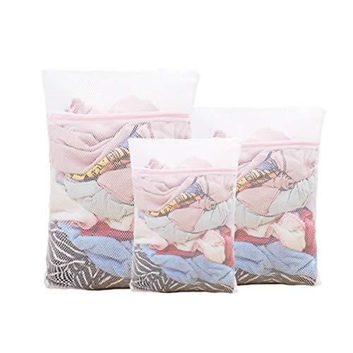 Baibang Laundry Bag Household Laundry Bag Laundry Net Bag Underwear Net Bag Anti-Deformation for Washing Machine White Two Styles Mesh Laundry Bag Color  White Edition  Coarse net