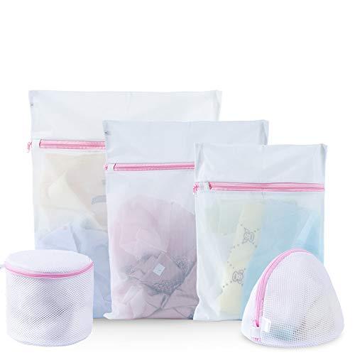 Jane Shop Wash Bag6 Pack Mesh Laundry Net BagsTravel Storage Organizer Bag Clothing Washing Bags for LaundryBlouseBraHosieryStockingUnderwearLingerie 3 Large3 Medium