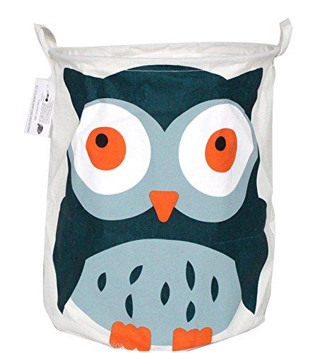 Premium Decor FLB-309 Fabric Foldable Canvas Laundry Basket