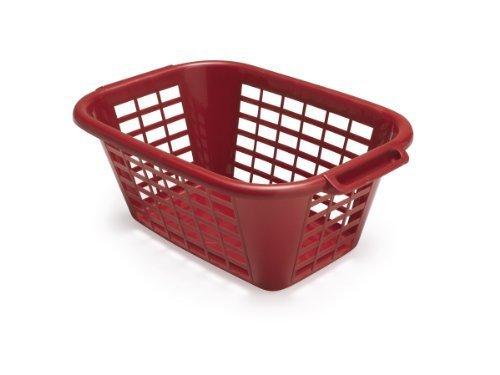 ADDIS 40 Litre Rectangular Laundry Basket Roasted Red by Addis