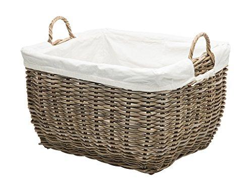 KOUBOO 1060108 Rattan Kobo Rectangular Laundry Basket