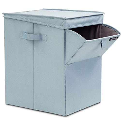 JINGYANHUA Foldable Oxford Cloth Storage Box with lid Dirty Laundry Basket Storage Box Storage Box Finishing Box