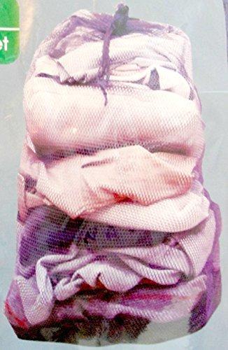 Essentials Extra Large Mesh Laundry Bag Purple