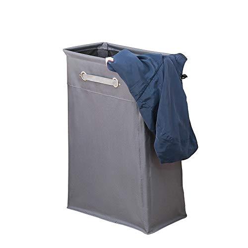 LIUFENGLONG Laundry Basket Slim Laundry Hamper Small Laundry Basket Narrow Thin Laundry Hamper Dirty Clothes Hamper with Handles Collapsible Hampers Multipurpose Storage Basket