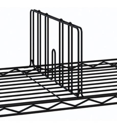 Metro DD18BL Super Erecta Shelf Divider 18 Width x 8 Height Black