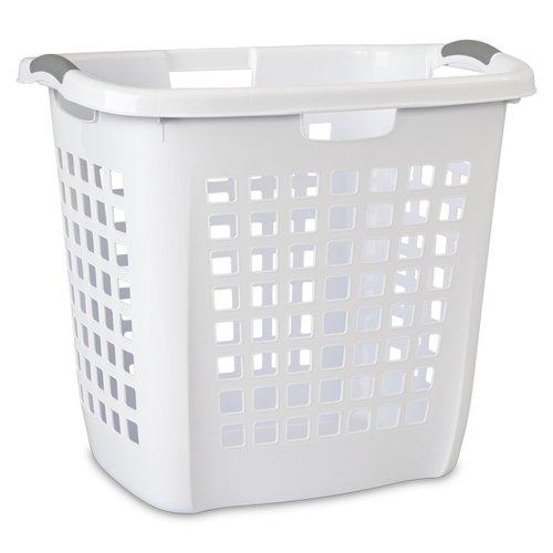 Sterilite White Ultra Easy Carry Hamper - 22-14 L x 17-38 W x 19-78 H 1 Hamper