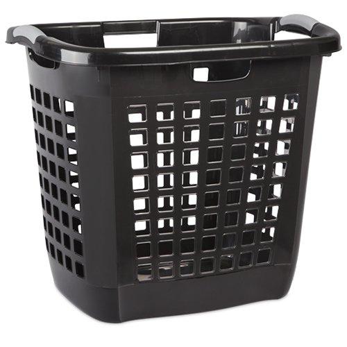 Sterilite Black Ultra Easy Carry Hamper - 22-14 L x 17-38 W x 19-78 H 1 Hamper