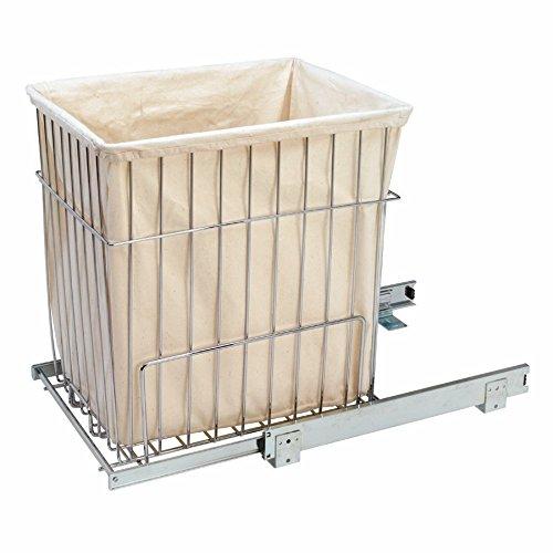 Rev-A-Shelf Pullout Wire Hamper White
