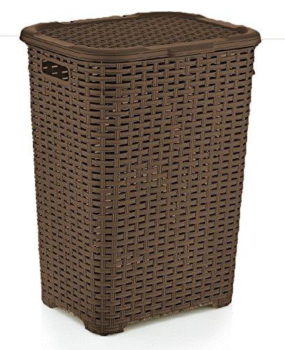 Rattan Wicker Style 17 Bushel Laundry Hamper