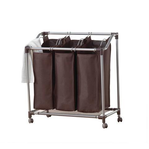 Closet Spice Deluxe Triple Laundry Sorter - Everfresh